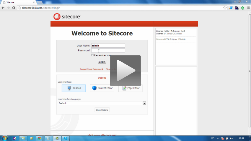 Sitecore Workflow Introduction Video